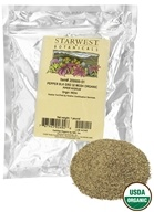 Starwest Botanicals - Bulk Black Pepper Medium Grind Organic - 1 lb. by Starwest Botanicals