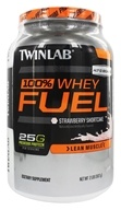 Twinlab - 100% Whey Fuel Strawberry Shortcake - 2 lbs. (027434040556)