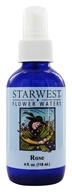 Starwest Botanicals - Flower Water Rose - 4 oz. by Starwest Botanicals