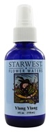 Starwest Botanicals - Flower Water Ylang Ylang - 4 oz., from category: Aromatherapy