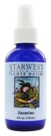 Starwest Botanicals - Flower Water Jasmine - 4 oz., from category: Aromatherapy