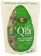Nature's Path Organic - Qia Superfood Chia Buckwheat & Hemp Cereal Apple Cinnamon - 7.9 oz., from category: Health Foods
