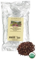 Starwest Botanicals - Bulk Hibiscus Flowers C/S Organic - 1 lb., from category: Teas