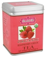 Brew La La - Organic Green Tea Raspberry - 50 Tea Bags by Brew La La