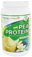 Growing Naturals - Raw Yellow Pea Protein Vanilla Blast - 33.5 oz. by Growing Naturals
