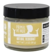 Primal Pit Paste - Natural Deodorant Patchouli - 2 oz.