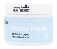 Primal Pit Paste - Natural Deodorant Unscented - 2 oz.