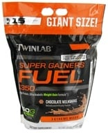 Image of Twinlab - Super Gainers Fuel 1350 Chocolate Milkshake - 12 lbs.