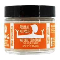 Primal Pit Paste - Natural Deodorant Kids Orange Creamsicle - 2 oz. (799493826531)