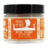 Primal Pit Paste - Natural Deodorant Kids Orange Creamsicle - 2 oz. by Primal Pit Paste