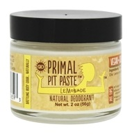 Primal Pit Paste - Natural Deodorant Kids Lemonade - 2 oz. - $8.95