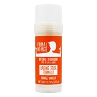 Primal Pit Paste - Natural Deodorant Stick Orange Creamsicle - 2 oz.