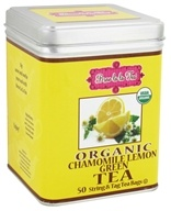 Brew La La - Organic Green Tea Chamomile Lemon - 50 Tea Bags, from category: Teas