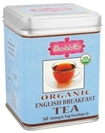 Brew La La - Organic English Breakfast Tea - 50 Tea Bags by Brew La La