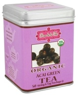 Image of Brew La La - Organic Green Tea Acai - 50 Tea Bags