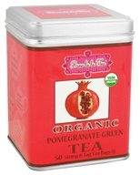 Brew La La - Organic Green Tea Pomegranate - 50 Tea Bags by Brew La La