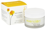 Everclen - Face Cream For Sensitive Skin Fragrance Free - 1.69 oz.
