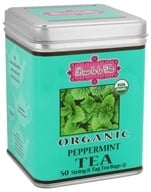 Brew La La - Organic Tea Peppermint - 50 Tea Bags by Brew La La