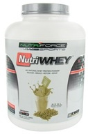 NutriForce Sports - NutriWhey All Natural Whey Protein Powder Vanilla - 4 lbs.