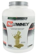 NutriForce Sports - NutriWhey All Natural Whey Protein Powder Vanilla - 4 lbs. by NutriForce Sports
