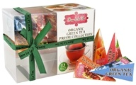 Image of Brew La La - Organic Green Tea Prism Sampler - 12 Tea Bags