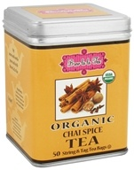 Brew La La - Organic Tea Chai Spice - 50 Tea Bags, from category: Teas