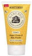 Image of Burt's Bees - Baby Bee Cream-to-Powder 2-in-1 Diaper Cream & Baby Powder - 4 oz. LUCKY DEAL