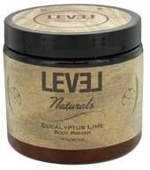 Level Naturals - Body Polish Eucalyptus Lime - 16 oz. (753182775074)