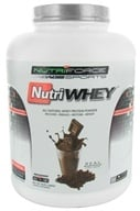 NutriForce Sports - NutriWhey All Natural Whey Protein Powder Belgian Chocolate - 4 lbs. - $55.99