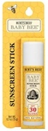 Image of Burt's Bees - Baby Bee Sunscreen Stick Fragrance Free 30 SPF - 0.7 oz. LUCKY DEAL