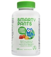 SmartyPants - Kids Fiber Complete - 120 Gummies, from category: Vitamins & Minerals