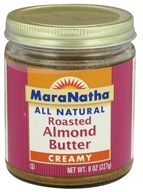 MaraNatha - Roasted Almond Butter Creamy - 8 oz., from category: Health Foods