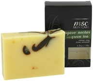 MSC Skin Care + Home - MSC Skin Care Artisan Bar Soap Agave Nectar and Green Tea - 4.2 oz.