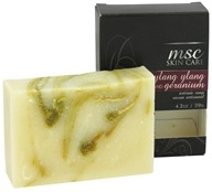 Image of Metropolis Soap Co. - MSC Skin Care Artisan Bar Soap Ylang Ylang and Geranium - 4.2 oz.
