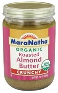 MaraNatha - Organic Roasted Almond Butter Crunchy - 16 oz. by MaraNatha