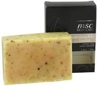 Image of Metropolis Soap Co. - MSC Skin Care Artisan Bar Soap Honeysuckle and Violet - 4.2 oz.