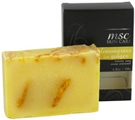 Metropolis Soap Co. - MSC Skin Care Artisan Bar Soap Lemongrass and Ginger - 4.2 oz. (609613522154)