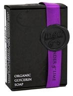 MSC Skin Care + Home - Organic Glycerin Soap Dark Lavender & Lime - 5.7 oz.