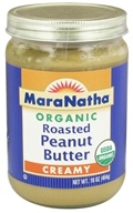 Image of MaraNatha - Organic Roasted Peanut Butter Creamy - 16 oz.