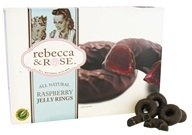 Rebecca & Rose - All Natural Jelly Rings Raspberry - 9 oz. (073490154119)