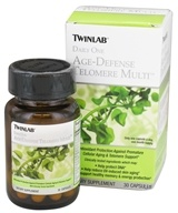 Twinlab - Daily One Age-Defense Telomere Multi - 30 Capsules (027434040525)