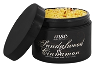 Metropolis Soap Co. - Exfoliating Sugar Scrub Sandalwood and Cinnamon - 8.8 oz. (609132442360)
