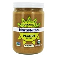 MaraNatha - Organic No Stir Peanut Butter Creamy - 16 oz., from category: Health Foods