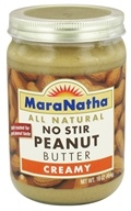 MaraNatha - No Stir Peanut Butter Creamy - 16 oz., from category: Health Foods