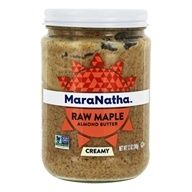 MaraNatha - No Stir Raw Almond Butter Maple Creamy - 12 oz. by MaraNatha