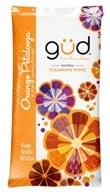 GUD From Burt's Bees - Natural Cleansing Wipes Orange Petalooza - 10 Wipe(s) LUCKY DEAL - $2.12