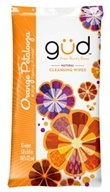 GUD From Burt's Bees - Natural Cleansing Wipes Orange Petalooza - 10 Wipe(s) LUCKY DEAL by GUD From Burt's Bees
