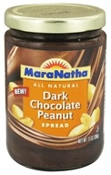 Image of MaraNatha - Dark Chocolate Peanut Spread - 13 oz.