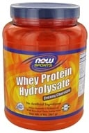 NOW Foods - Whey Protein Hydrolysate Creamy Chocolate - 2 lbs. (733739021892)