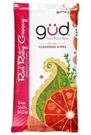 Image of GUD From Burt's Bees - Natural Cleansing Wipes Red Ruby Groovy - 10 Wipe(s)